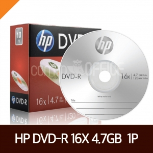 HP) DVD-R 1P (4.7GB/16X)