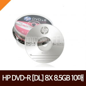 HP) DVD+R[DL] 10P (8.5GB/8X)